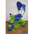 Triciclo Scooter con manija y toldo